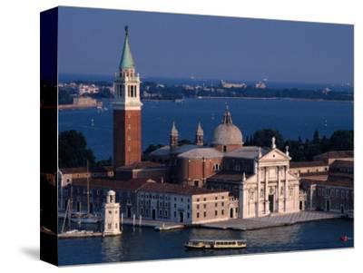 Island Tower and Buildings, San Giorgio Maggiore, Veneto, Italy