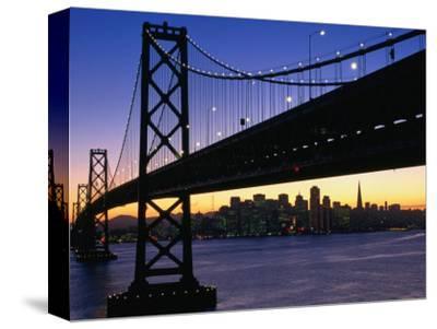 Skyline and Bay Bridge from Treasure Island, San Francisco, California, USA