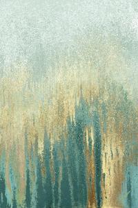 Teal Golden Woods by Roberto Gonzalez