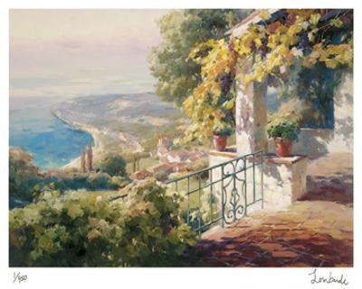 Balcony Paradiso I by Roberto Lombardi