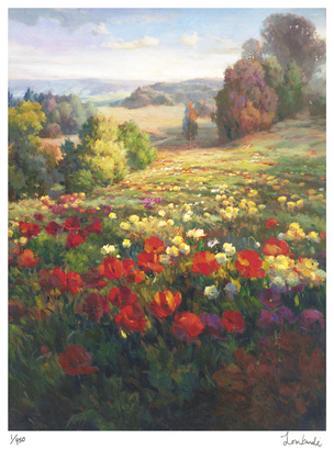 Fields of Italia I by Roberto Lombardi