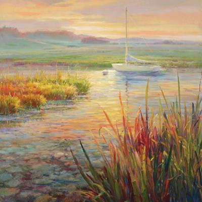 Sunset Marsh by Roberto Lombardi