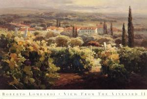 View From the Vineyard II by Roberto Lombardi