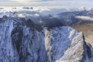 Aerial View of Cima Della Bondasca Located Between Ferro Valley and Bondasca Valley by Roberto Moiola