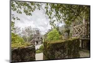 Mystical Constructions of Romanesque Gothic and Renaissance Style Inside Park Quinta Da Regaleira by Roberto Moiola