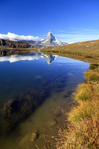 The Matterhorn Reflected in Stellisee by Roberto Moiola