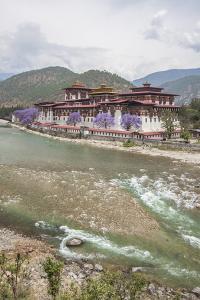 The Punakha Dzong (Pungtang Dechen Photrang Dzong) Is the Administrative Centre of Punakha District by Roberto Moiola