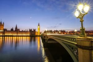 View of Big Ben and Palace of Westminster by Roberto Moiola