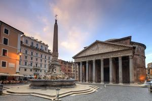 View of Old Pantheon by Roberto Moiola