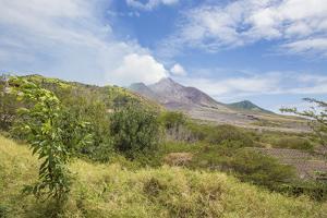 View of the Haze around the Peak of Soufriere Hills Volcano, Montserrat, Leeward Islands by Roberto Moiola
