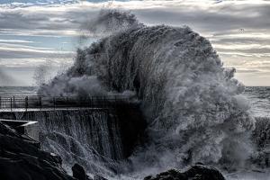 Danger Pier by Roberto Zanleone