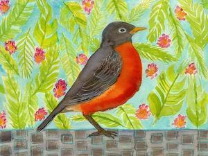Robin Bird Watercolor