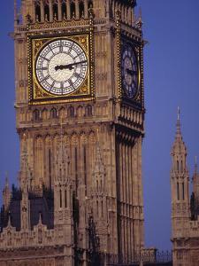 Big Ben Clock Tower, London, England by Robin Hill