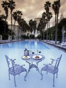 Delano Hotel Pool, South Beach, Miami, Florida, USA by Robin Hill