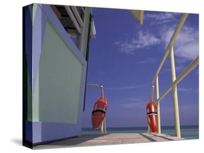 Lifeguard Stand, South Beach, Miami, Florida, USA