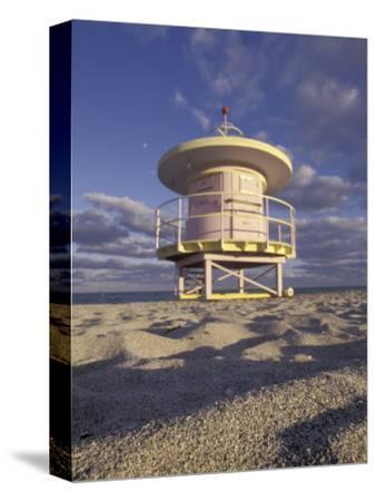 Lifeguard Station on South Beach, Miami, Florida, USA