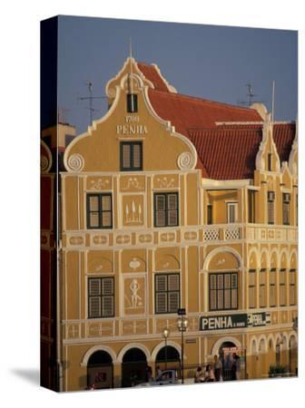 Penha and Sons Building, Willemstad, Curacao, Caribbean