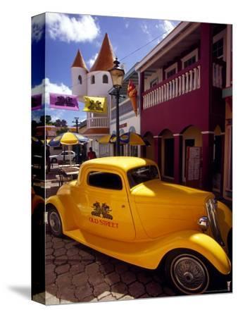 Street Scene in Philipsburg, St. Martin, Caribbean
