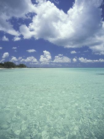 View of Rum Point on Grand Cayman, Cayman Islands, Caribbean