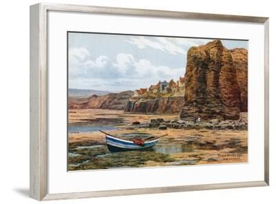 Robin Hood's Bay, from the Sands-Alfred Robert Quinton-Framed Giclee Print