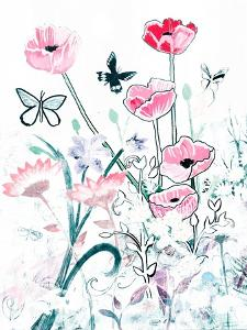 All White Garden by Robin Maria