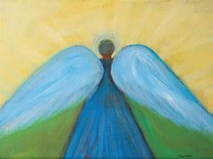 Beneath Angels Wings by Robin Maria