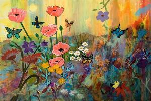Pink Poppies in Paradise by Robin Maria