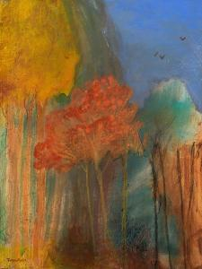 Red Tree by Robin Maria