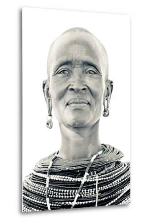 A Samburu Woman Poses for Her Portrait