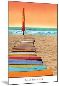 Orange Beachwalk by Robin Renee Hix