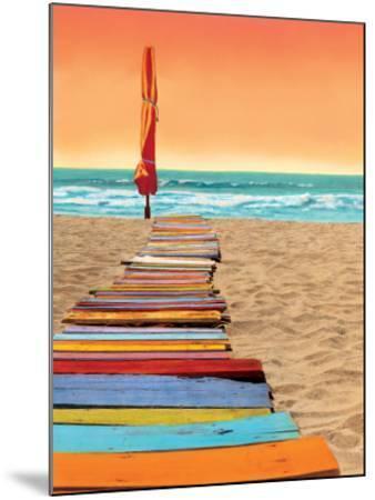 Orange Beachwalk