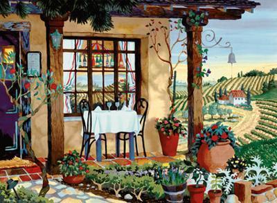 A Taste of Wine Country - Tuscany Italy - Italian Villa, Vineyards by Robin Wethe Altman