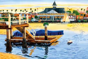 Balboa Pavilion - Newport Beach, California by Robin Wethe Altman