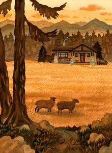 Craftsman Cottage in the Mountains by Robin Wethe Altman