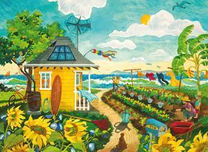 Happily Ever After - Tropical Paradise Beach House - Hawaii - Hawaiian Islands by Robin Wethe Altman