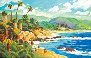 In Love with Laguna Beach - California - Seaside Ocean View by Robin Wethe Altman