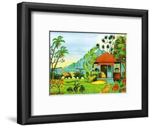 Island Getaway - Tropical Paradise - Hawaii - Hawaiian Islands by Robin Wethe Altman