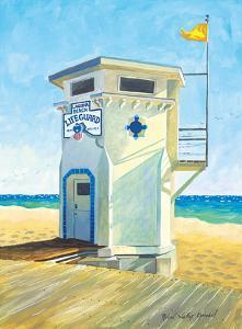 Laguna Beach Lifeguard Tower - Main Beach - California by Robin Wethe Altman