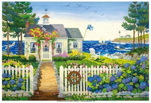 The Captain's Seaside Cottage by Robin Wethe Altman