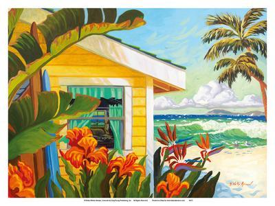 The Cottage at Crystal Cove - Laguna Beach California - Tropical Paradise