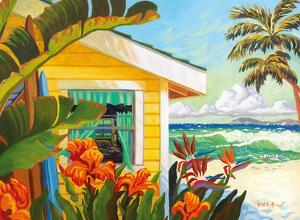 The Cottage at Crystal Cove - Laguna Beach California - Tropical Paradise by Robin Wethe Altman