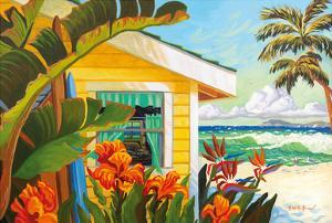 The Cottage at Crystal Cove - Laguna Beach California - Tropical Paradise by Robin Wethe Altman