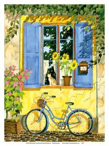The French Bike - France by Robin Wethe Altman
