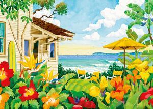 The Good Life - Tropical Beach House - Hawaii - Hawaiian Islands by Robin Wethe Altman