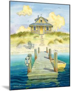 Welcome Home - Sitting by the Dock - Cozy Beach Cottage by Robin Wethe Altman