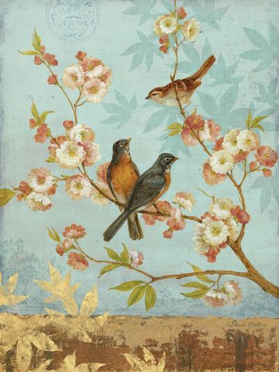 Robins & Blooms-Pamela Gladding-Art Print