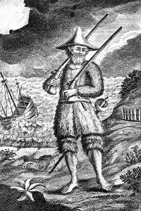 Robinson Crusoe, C1719