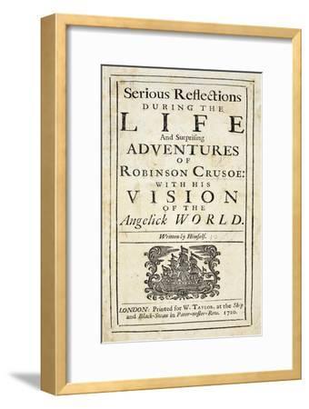 Robinson Crusoe, Novel by Daniel Defoe