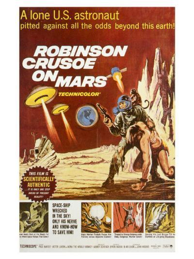Robinson Crusoe on Mars, 1964--Art Print