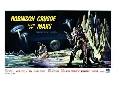 Robinson Crusoe on Mars, Belgian Movie Poster, 1964--Art Print